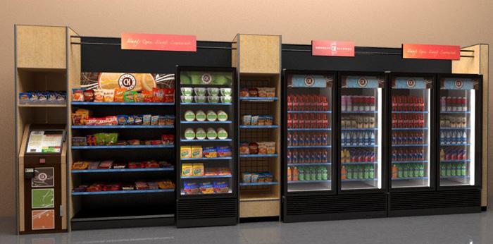 Торговые автоматы вместо продавцов