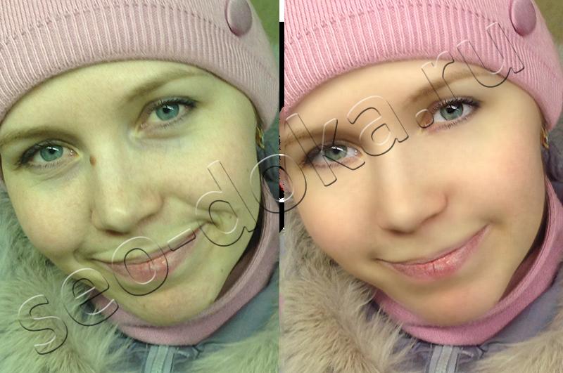 Как сделать ретушь лица в фотошопе простым способом?: http://seo-doka.ru/cha-vo-265.htm
