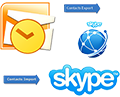Интеграция skype в Outlook